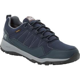 Jack Wolfskin Maze Low Texapore Shoes Men dark blue/grey